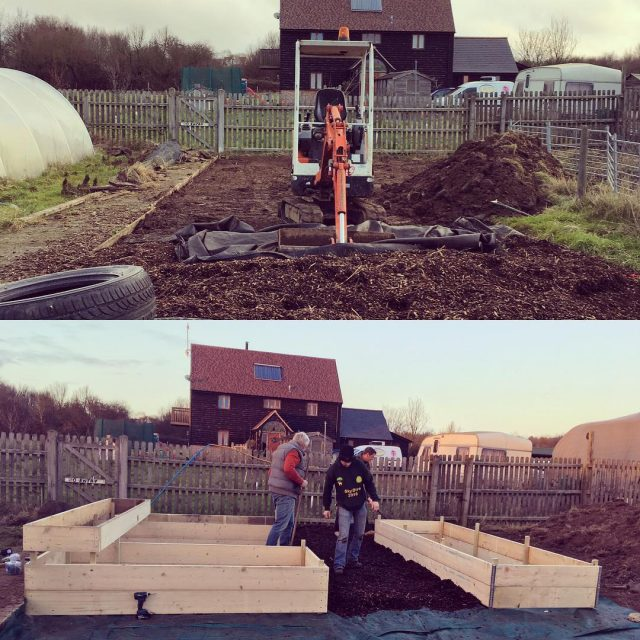 What a fabulous day we have had! Our allotment projecthellip