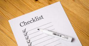 policies checklist