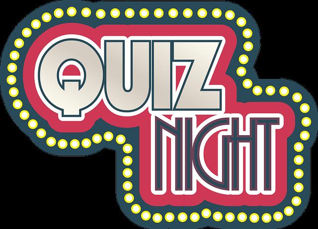 Image result for quiz night